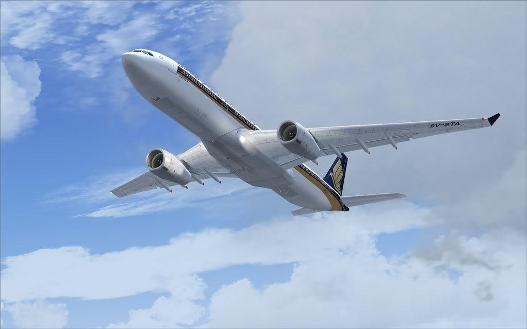 Airbus A330 Singapore Shot0017
