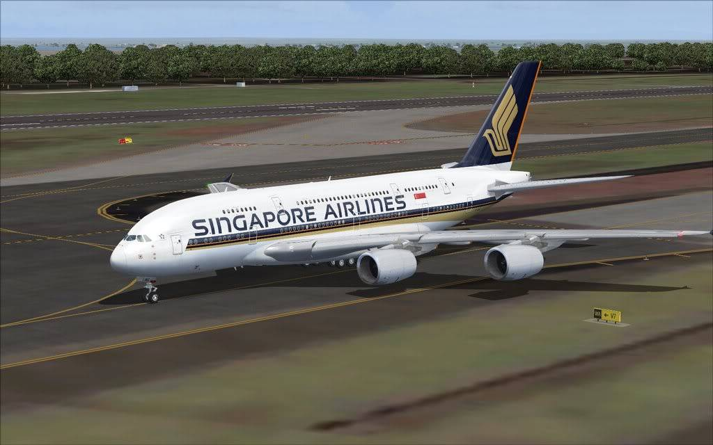 Airbus A380 Singapore Shot0002