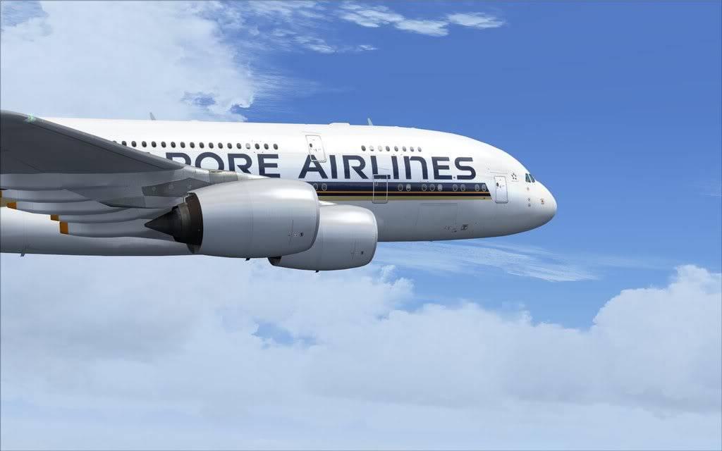 Airbus A380 Singapore Shot0007