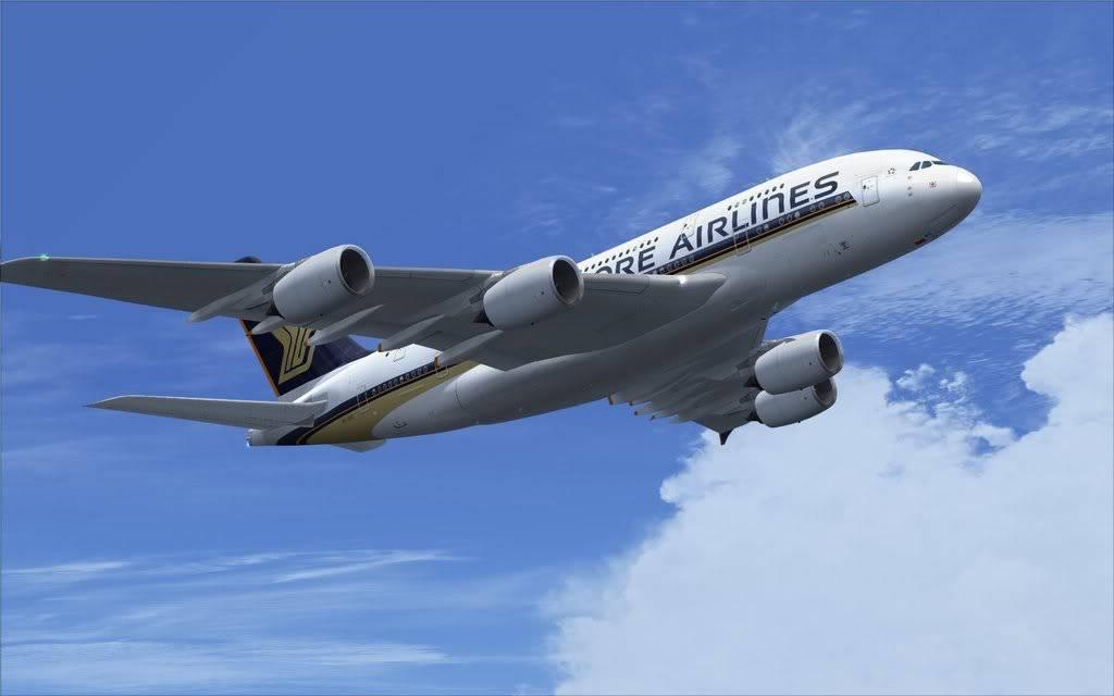 Airbus A380 Singapore Shot0008
