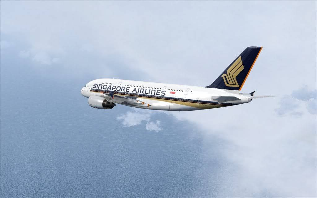 Airbus A380 Singapore Shot0011