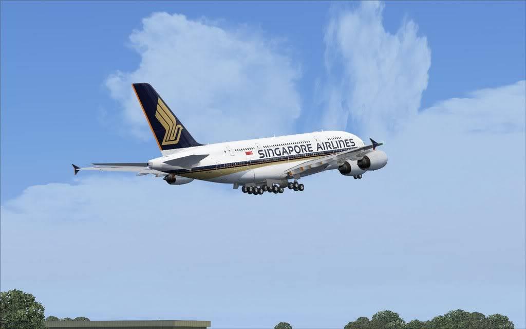 Airbus A380 Singapore Shot0024