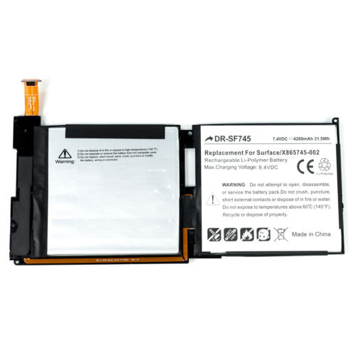 Microsoft Surface RT 1 1516 Battery  X872874-001 DR-SF745 DR-SF745_zpsbzxnzgfr