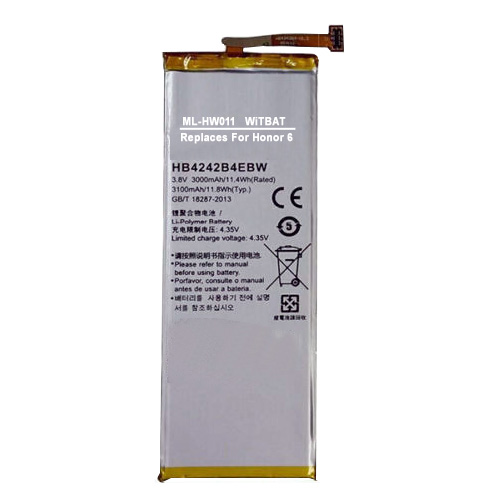 Huawei Honor 6 Battery HB4242B4EBW ML-HW011 ML-HW011_zpsmmaeyvi3