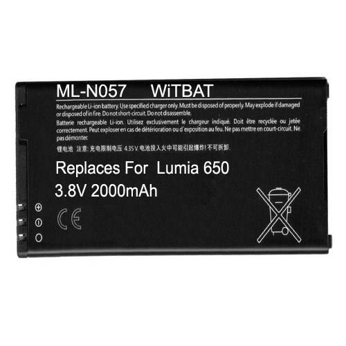 Microsoft  Lumia 650 Battery BV-T3G ML-N057 ML-N057_zpsemsjacow