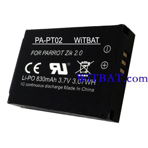 Parrot Zik 2.0 Bluetooth Headphone Battery MCELE00254,MH46671 PA-PT02_zpsxdwjhsn6