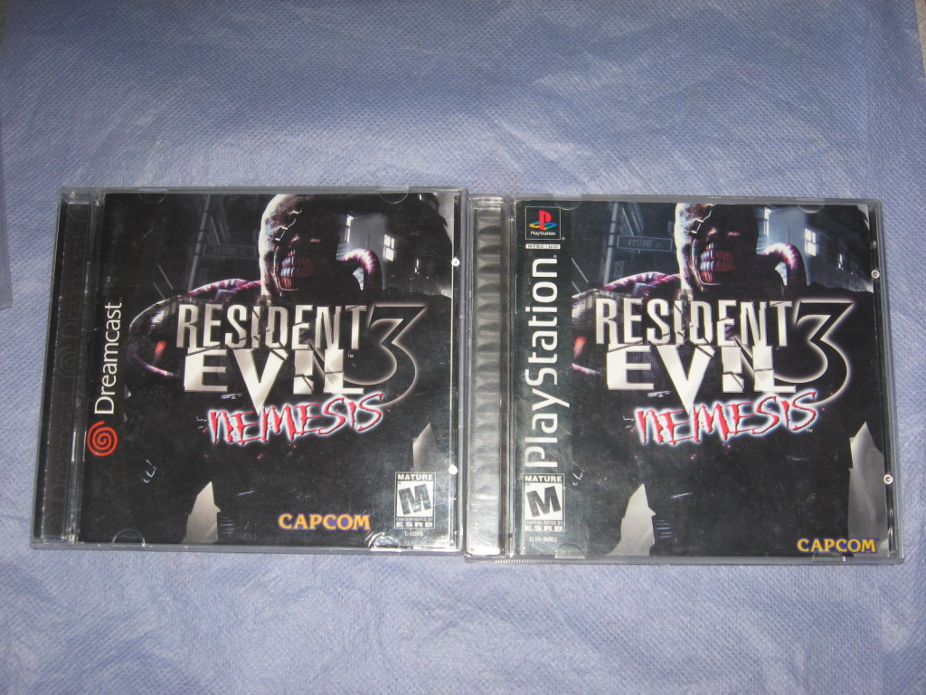 Dreamcast   vs  playsation 1 IMG_8256
