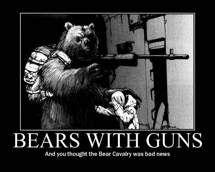 [Game]Destroy The Pic Above You Bears-with-guns