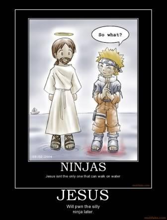 [Game]Destroy The Pic Above You Jesus-ninja-demotivational-poster-1226528906
