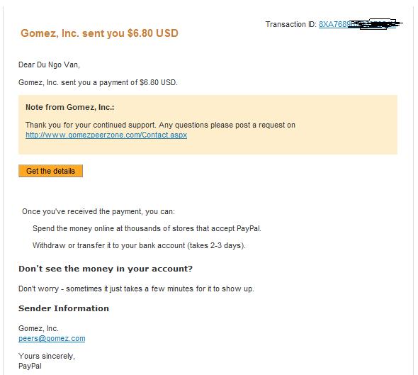 kinh nghiệm kiếm hơn 2$/ngày không phải làm gì với Gomez. Proof-GOMEZ-1