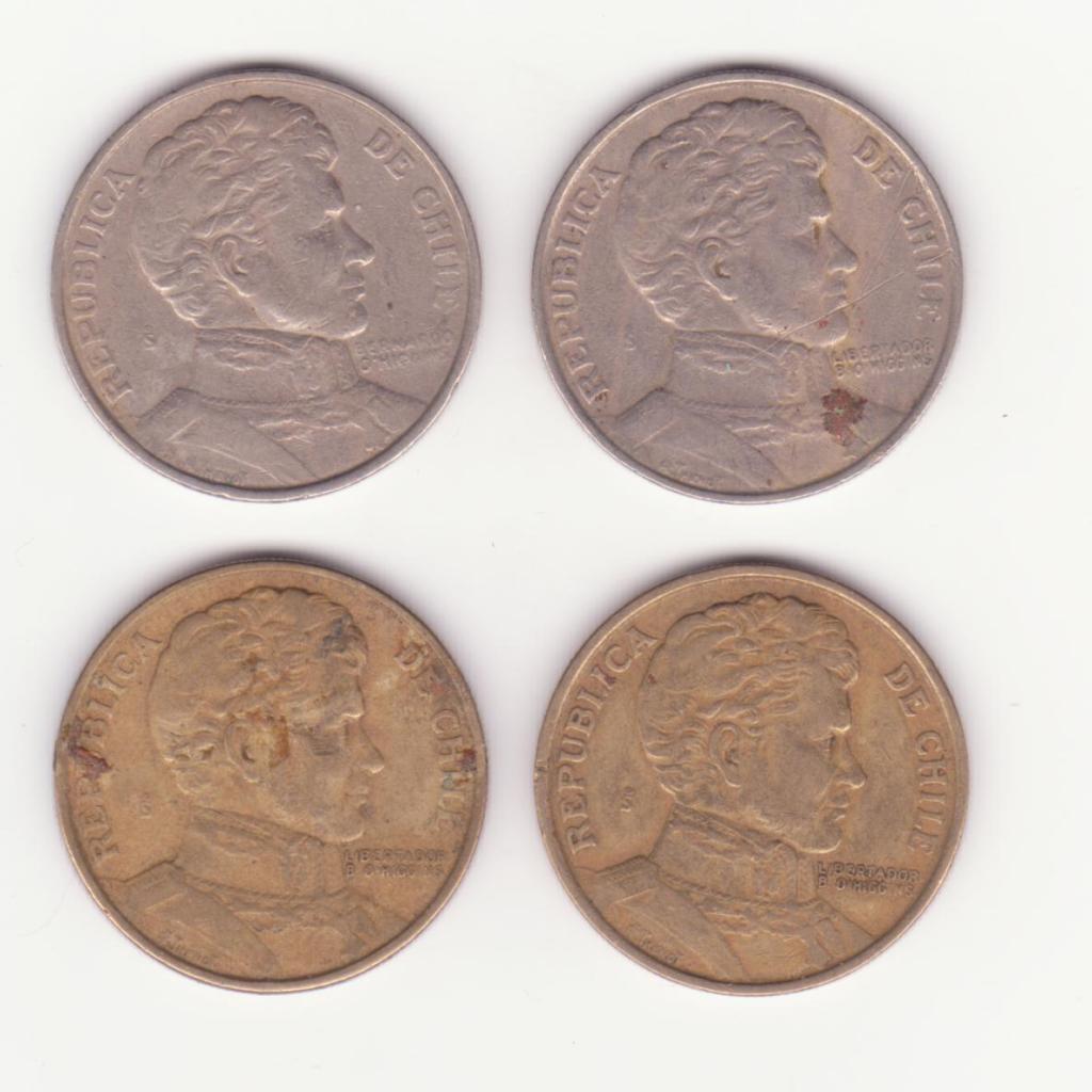 Monedas que se parecen 1021-1