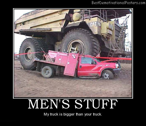 VEHICLE FUNNIES, Cars, Bikes, Boats, Trucks, etc Mens-stuff-truck-big-car-accident-best-demotivational-posters