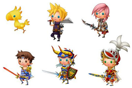 [Preview] Theatrhythm: Final Fantasy TRFFCharacters