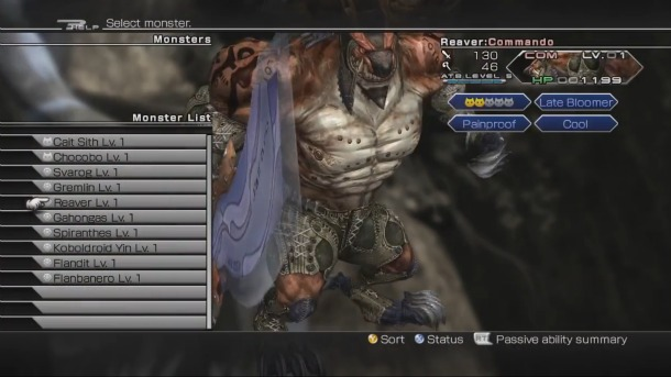 [Guide] Final Fantasy XIII-2 Monster Collecting Monsterhunting02