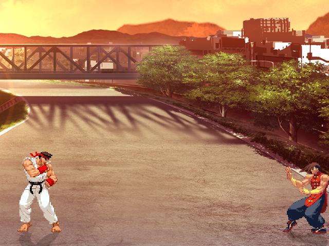 Sunset Neighborhood by Watta (1.0 and 1.1 versions) Mugen001_zps5beda6cc