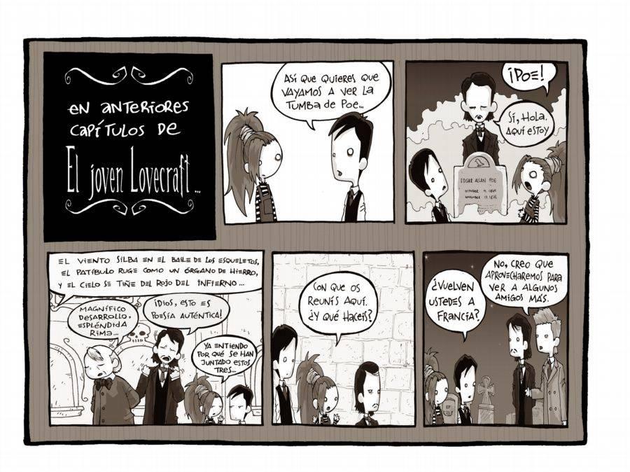 El Joven Lovecraft  Lovie082inpass1t2cast