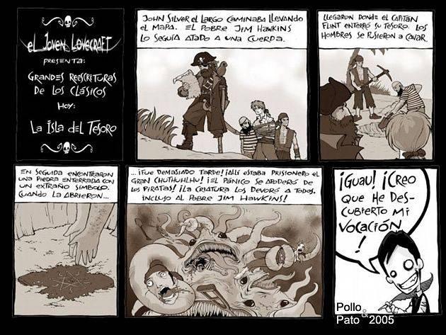 El Joven Lovecraft  Lovie13castd