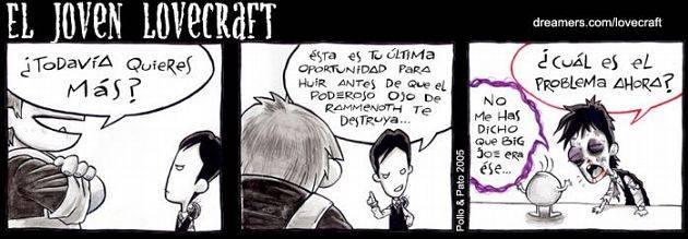 El Joven Lovecraft  Lovie7castd