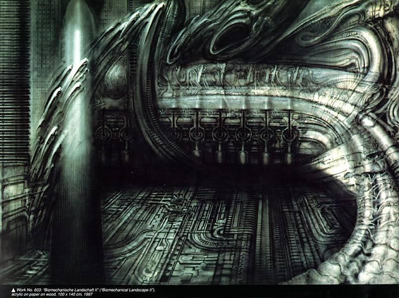 H.R.Giger                             Image_BioLandscape_II