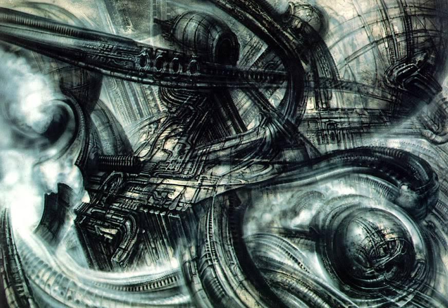 H.R.Giger                             Image_BioLandscape_III
