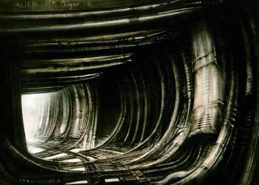 H.R.Giger                             Image_Corridor