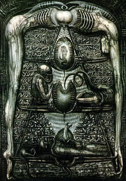 H.R.Giger                             Image_Heiroglyphs