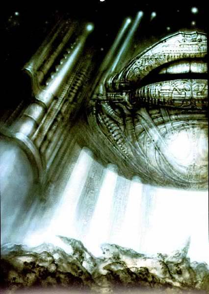 H.R.Giger                             Image_Hyperspace_II