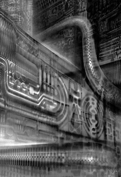 H.R.Giger                             Image_Landscape_I