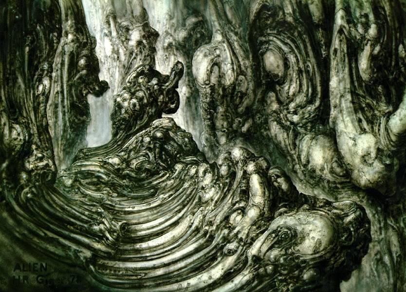 H.R.Giger                             Image_Landscape_XII