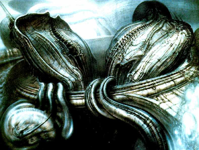 H.R.Giger                             Image_Metempsychosis