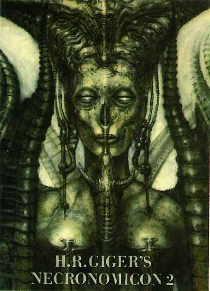 H.R.Giger                             Image_Necronomicon_II