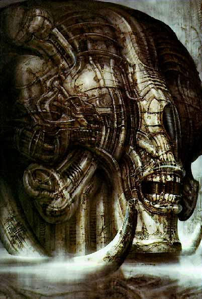 H.R.Giger                             Image_Necronomicon_III