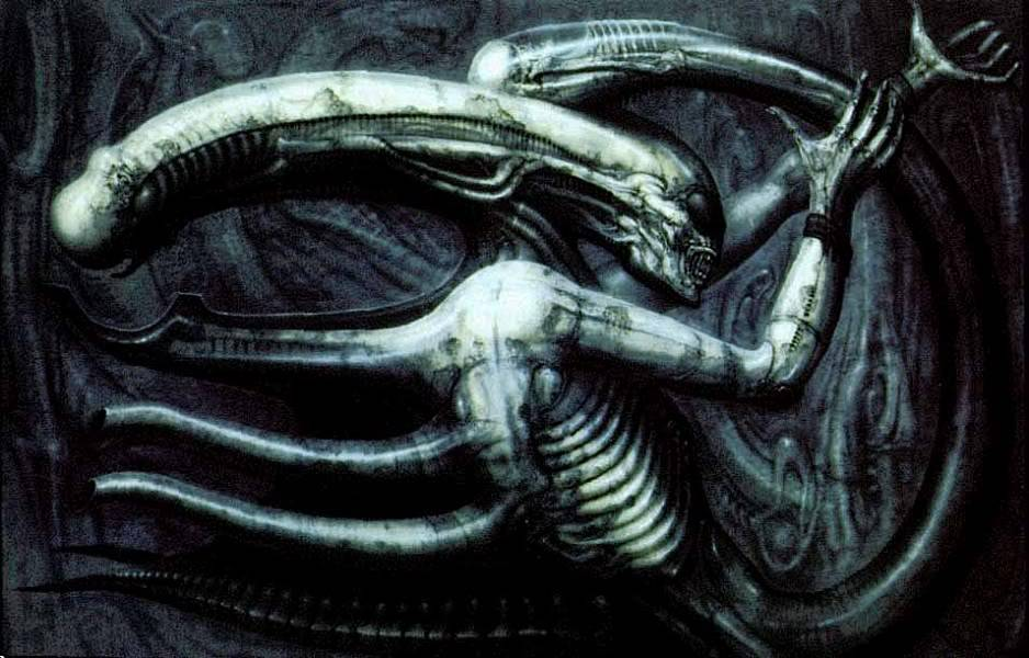 H.R.Giger                             Image_Necronomicon_IV