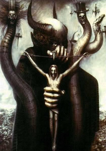 H.R.Giger                             Image_Satan_I