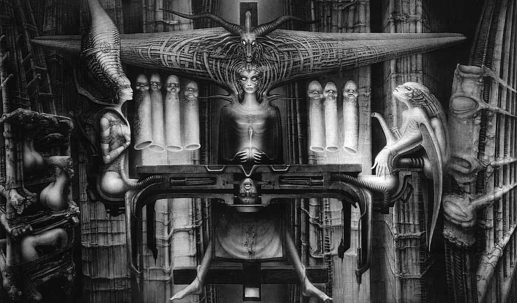 H.R.Giger                             Image_Spell_II