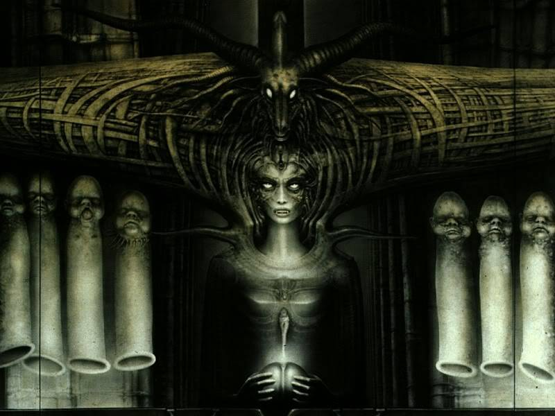 H.R.Giger                             Image_Spell_II_detail