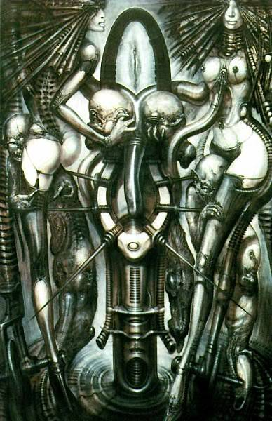 H.R.Giger                             Image_WitchesDance