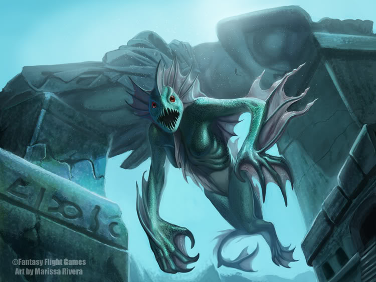 "Galeria ¡¡¡¡¡""Levantaos Hijos De Dagon""!!!!! Call_of_Cthulhu___Mother_Hydra_by_PearlPhoenix"