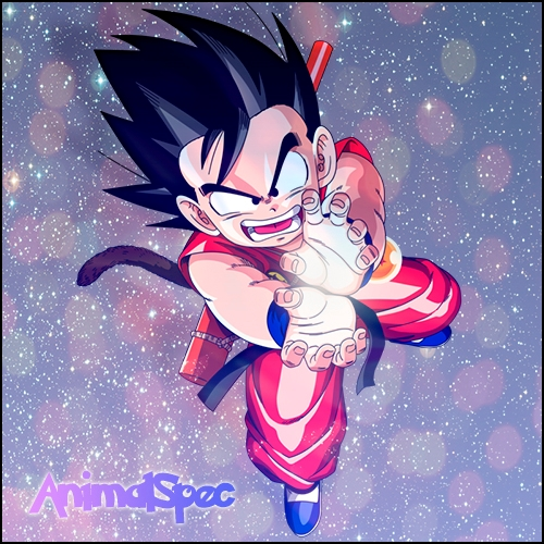 Dos de mis avatares GokuAnimalSpec_zps05979464