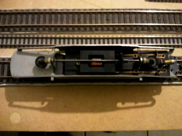 Train Ho Moteur- 3 pôles Saucisson Pièce détachée 5 pôles fonctionne