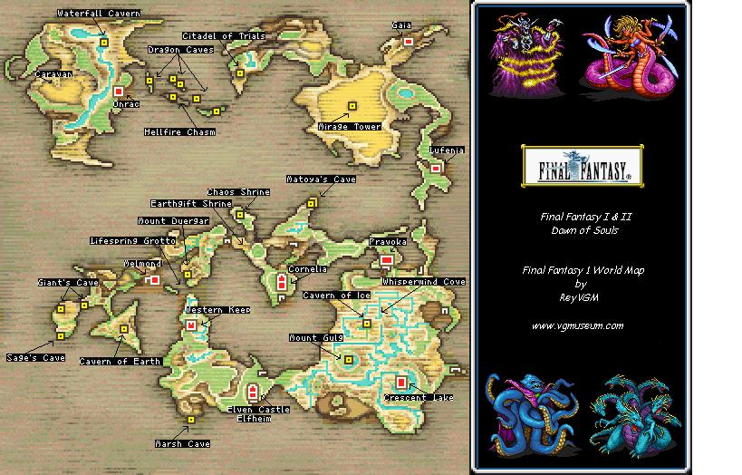 [Walkthrough] Final Fantasy I Untitled-4