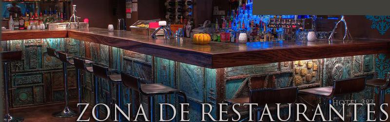 Zona de bares y restaurantes