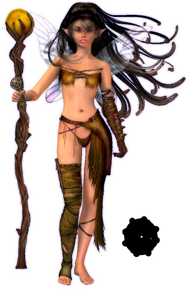 Fauns,Warriors,Elvish PoserLaneAlyse101a