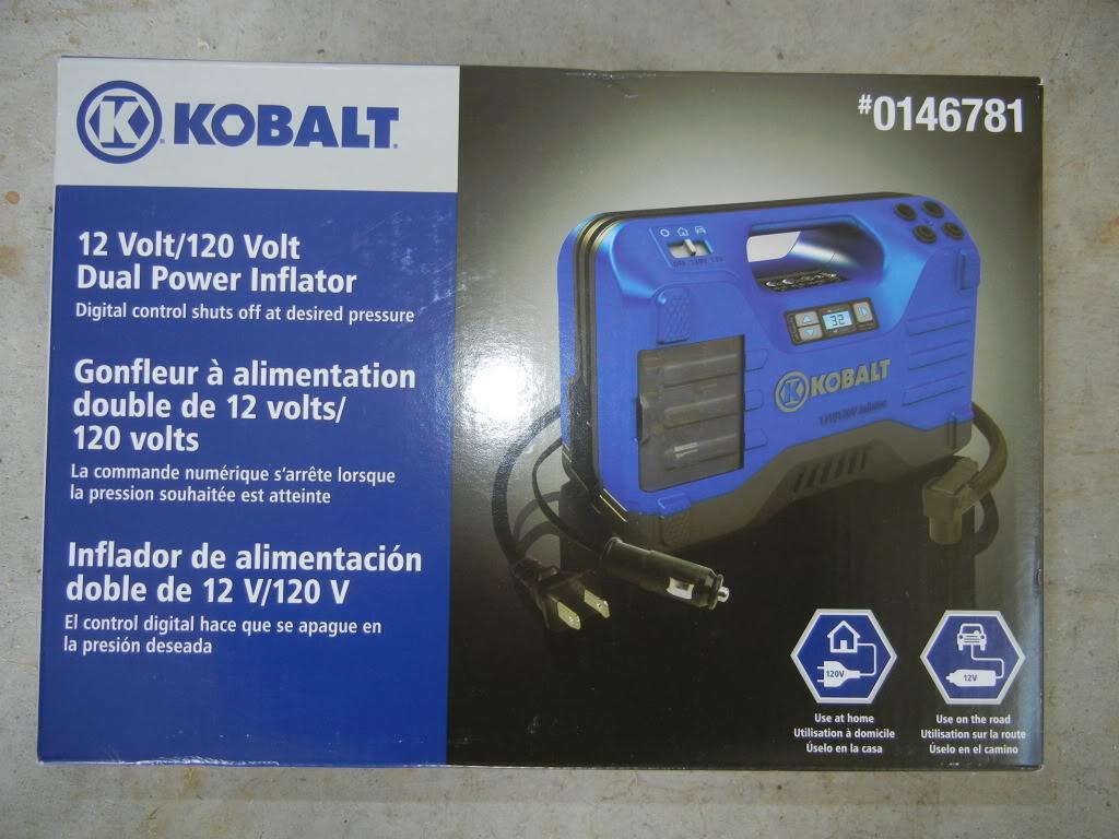 Kobalt Tire Inflator Review DSCN1778