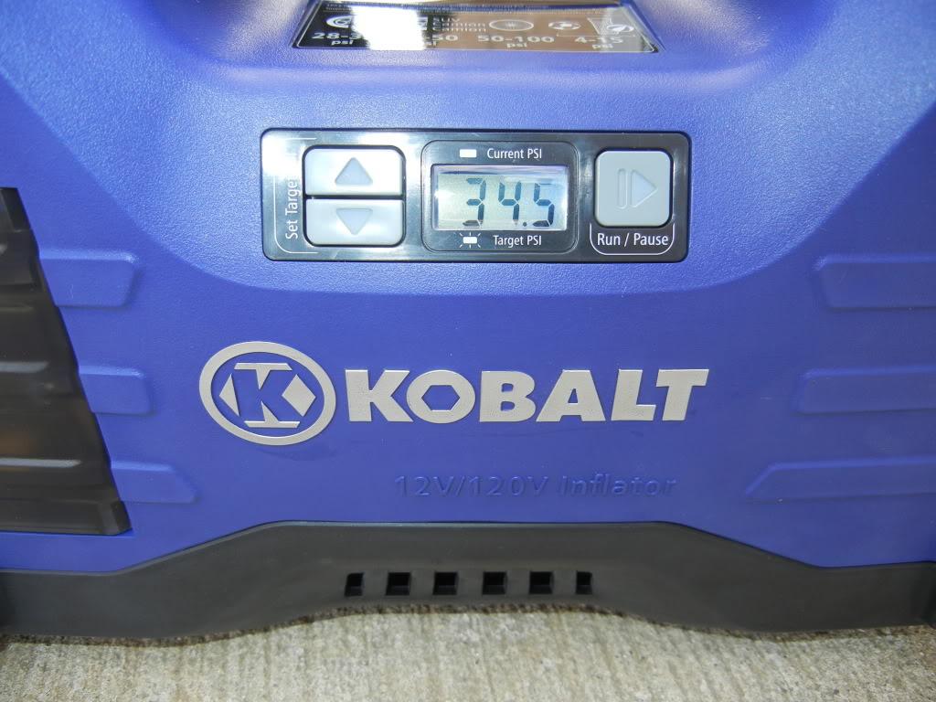 Kobalt Tire Inflator Review DSCN1782