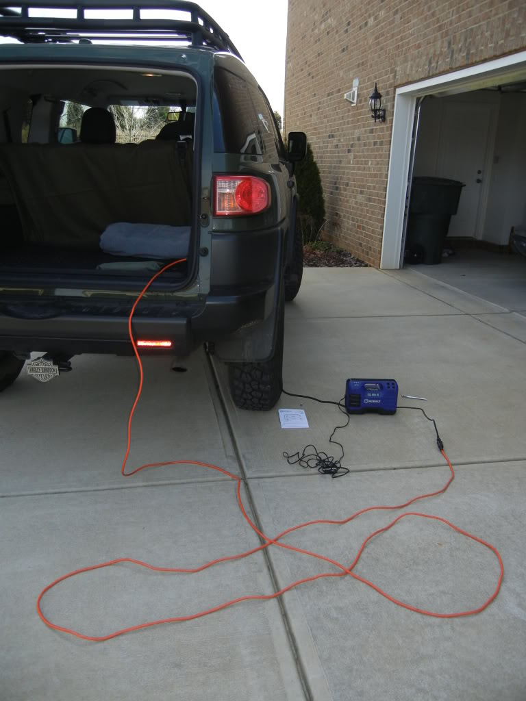 Kobalt Tire Inflator Review DSCN1783