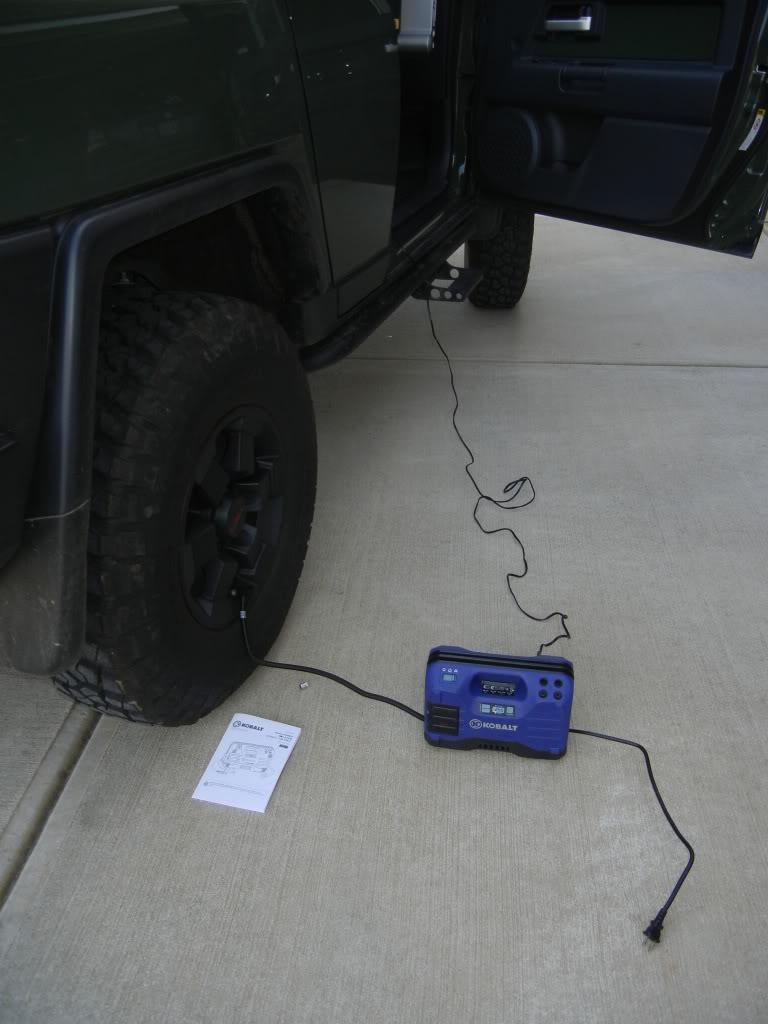 Kobalt Tire Inflator Review DSCN1784