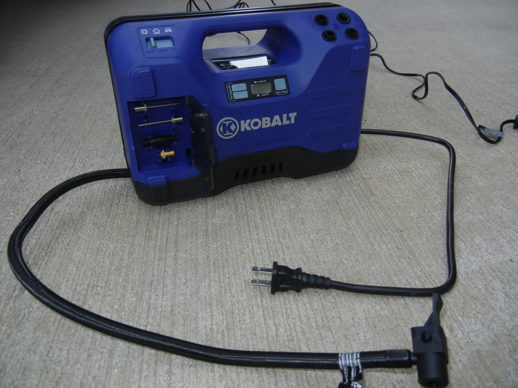 Kobalt Tire Inflator Review DSCN1786