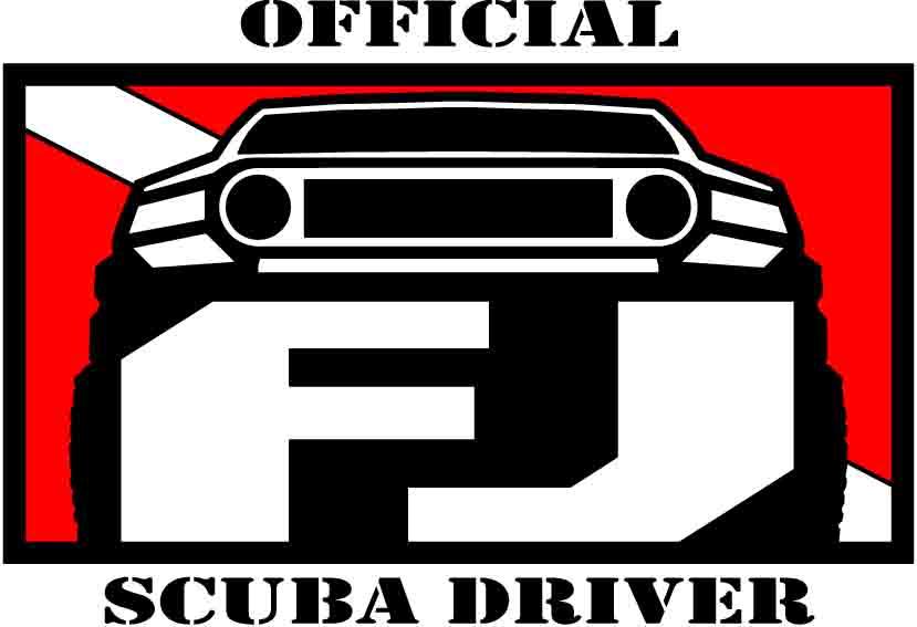 Scuba Driver Stickers SCUBA-1copy