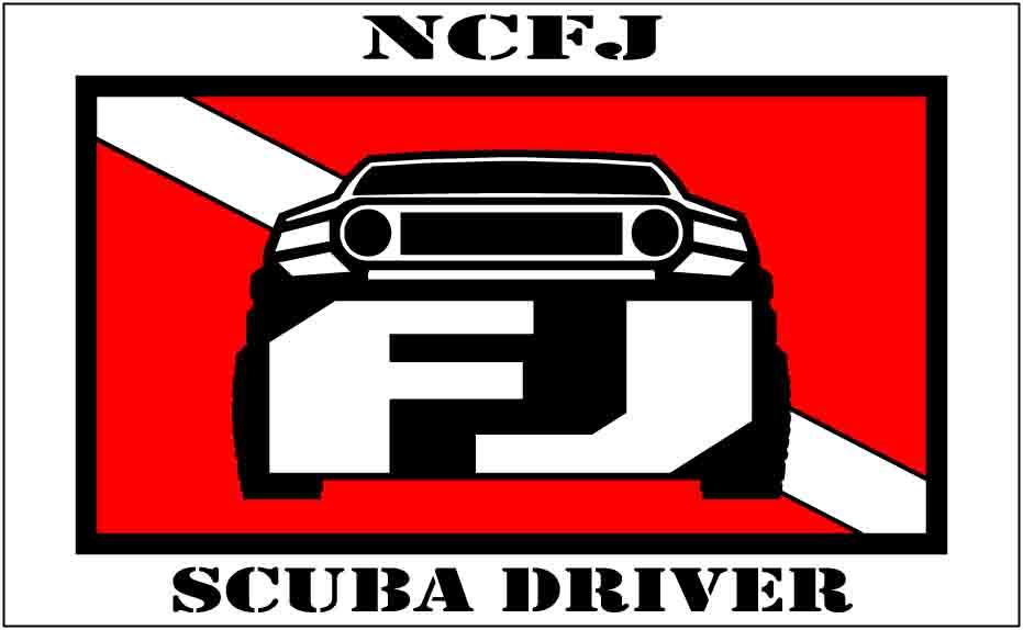 Scuba Driver Stickers SCUBA-NCFJ